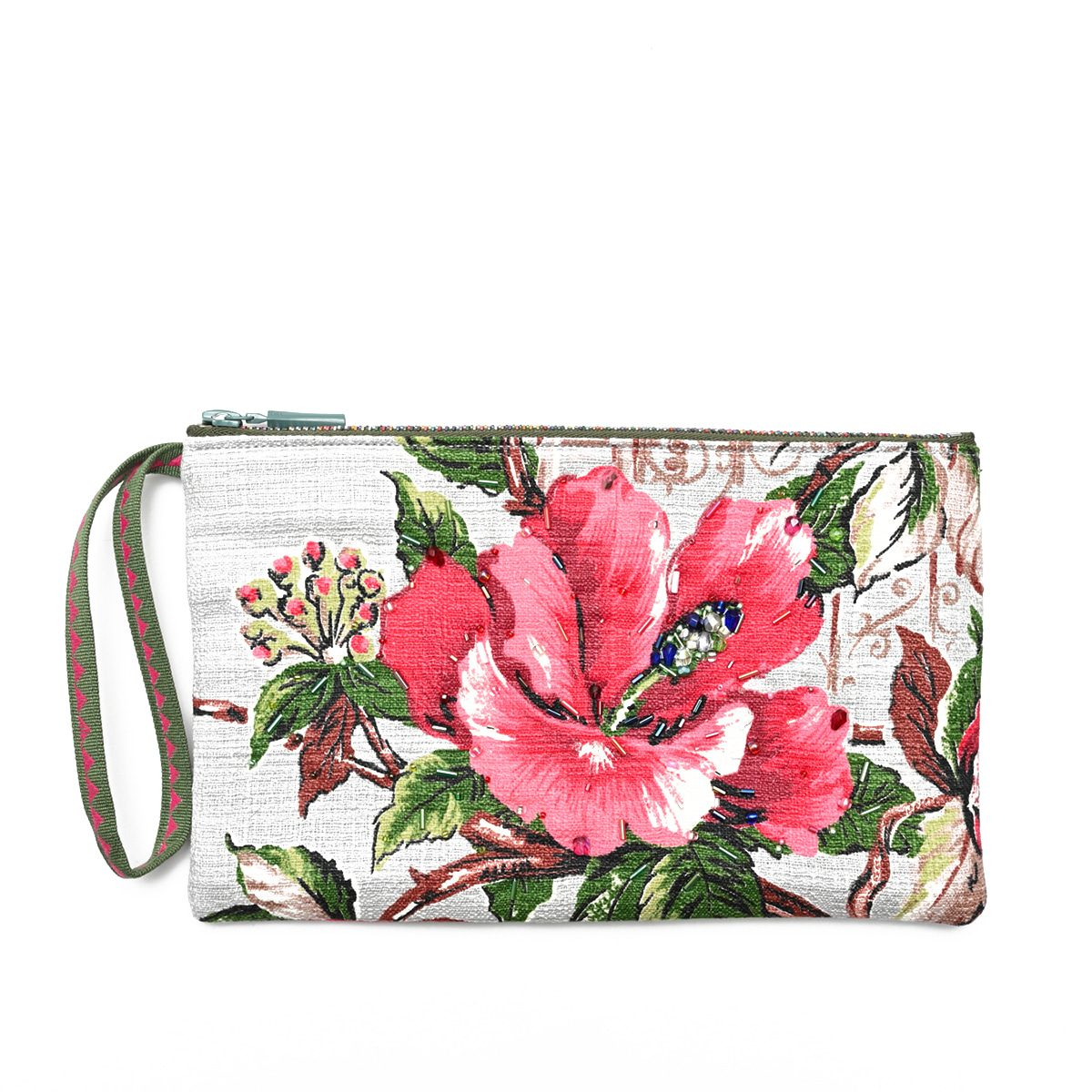 Hibiscus – Hand-Beaded