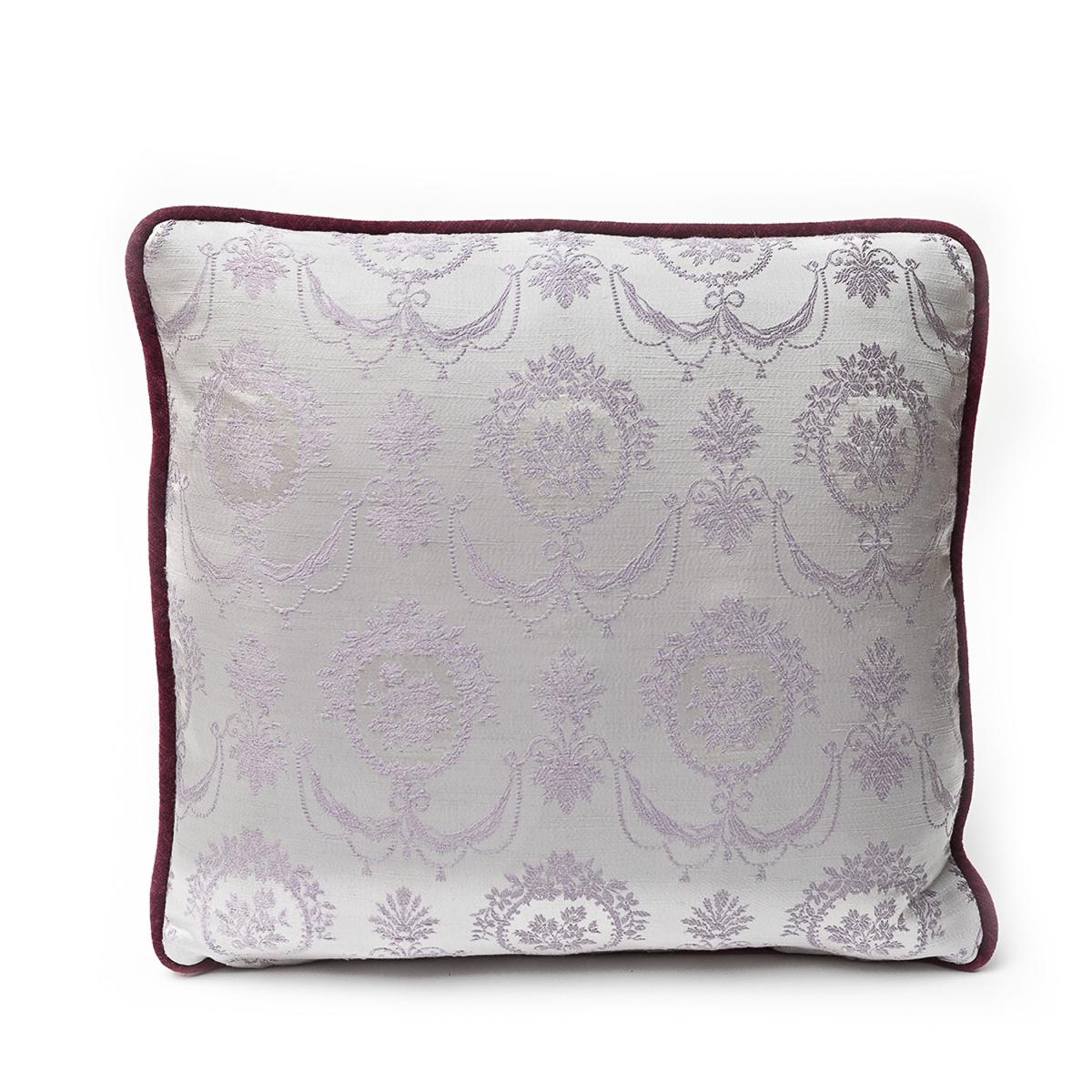 Lilac Bouquet – Single Pillow, Pair available – 18″ x 18″