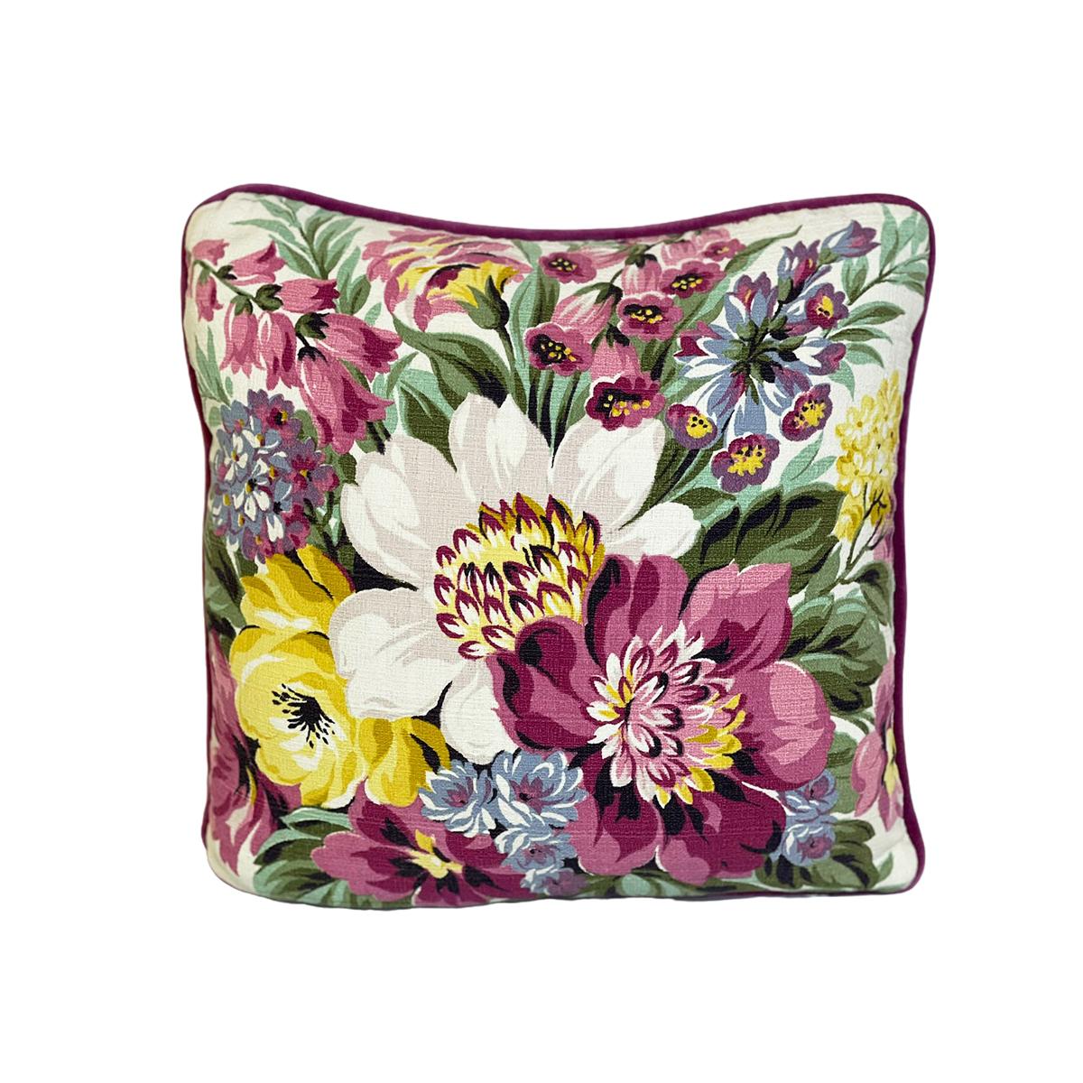 "Summer Garden – Single Pillow, Pair available – 18"" x 18"""