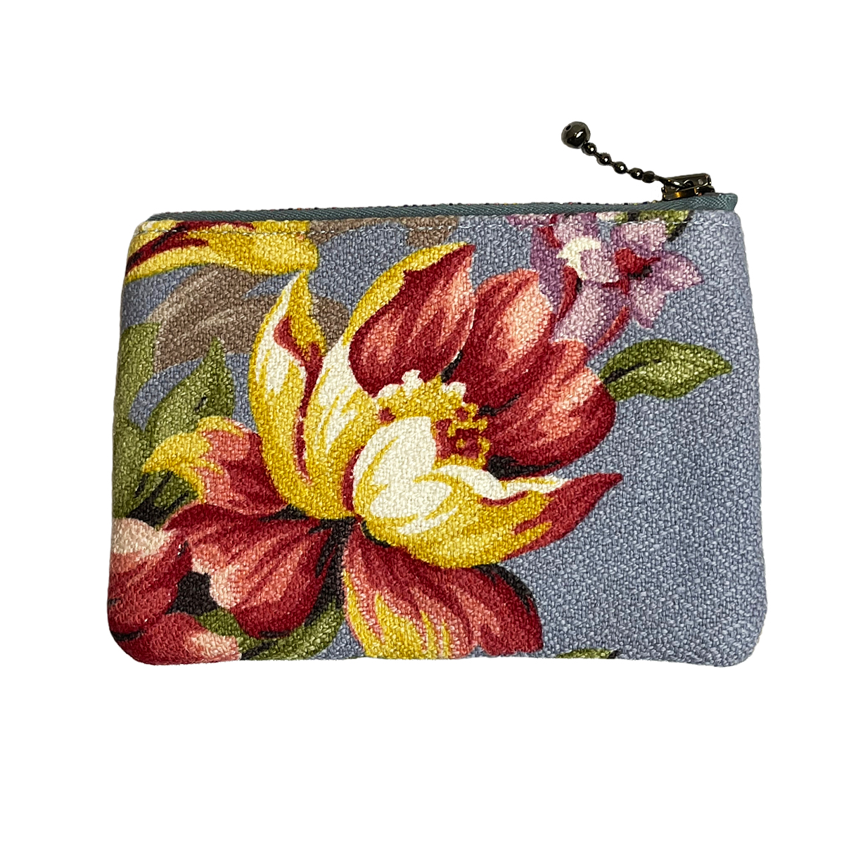 Coin Purse – Floral Periwinkle