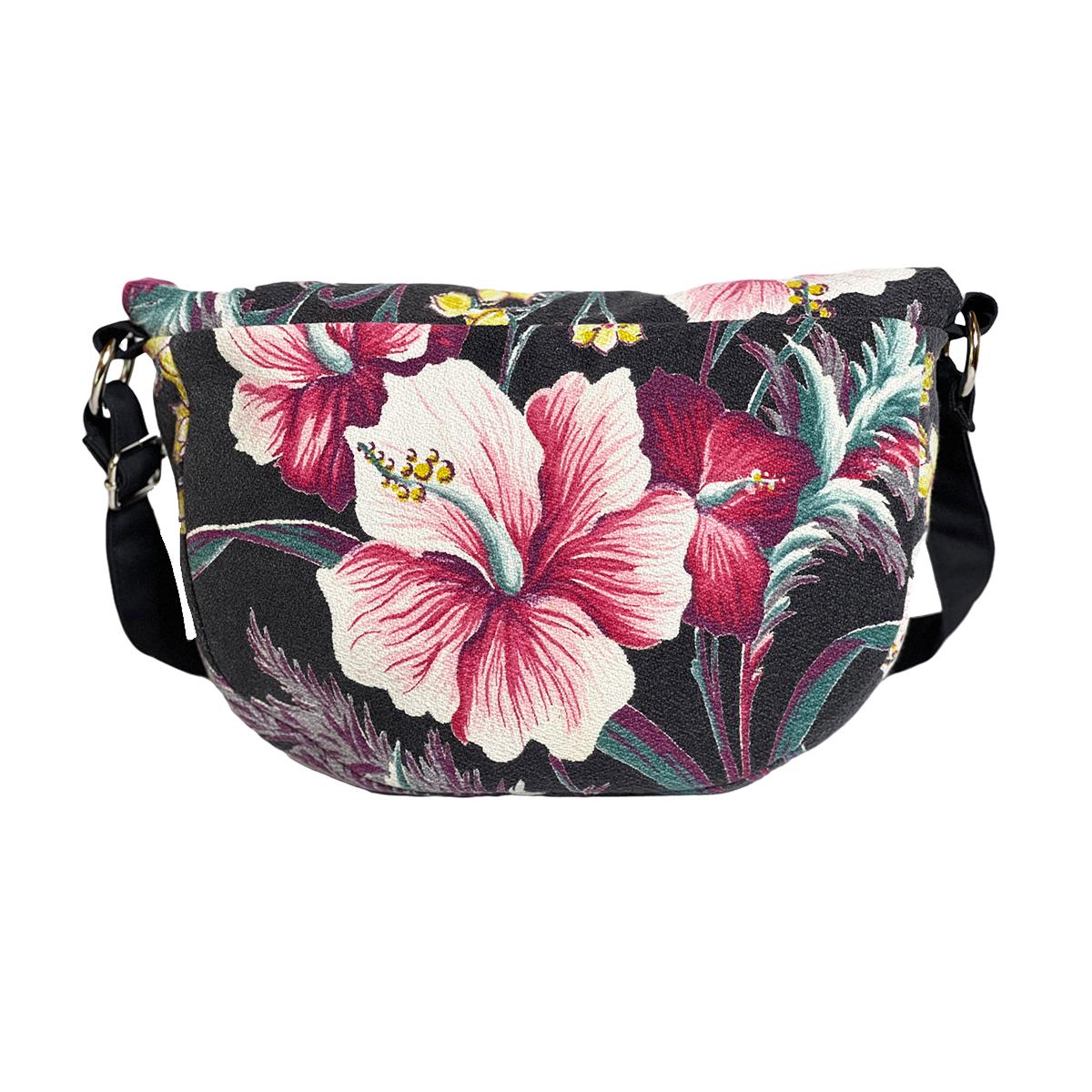 Vogue Bag – Variegated Hibiscus